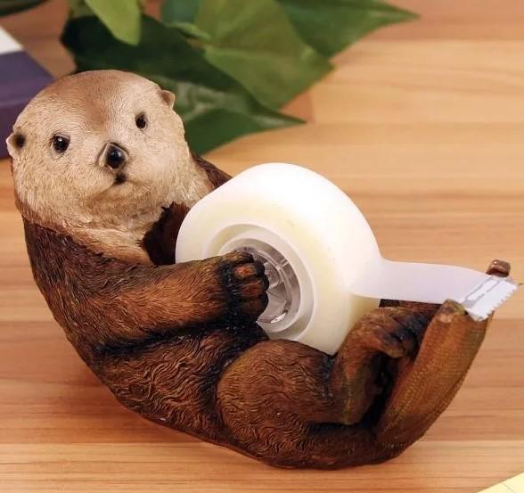 Otter Tape Dispenser | Skutchi Designs