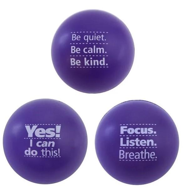 Motivational Stress balls , Skutchi Designs