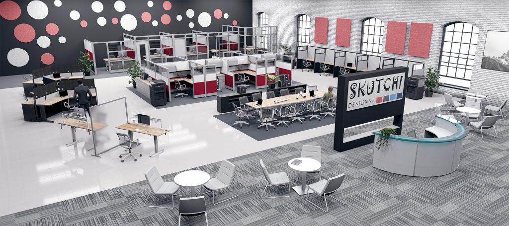 SKUTCHI DESIGN INC | The new era in office designing